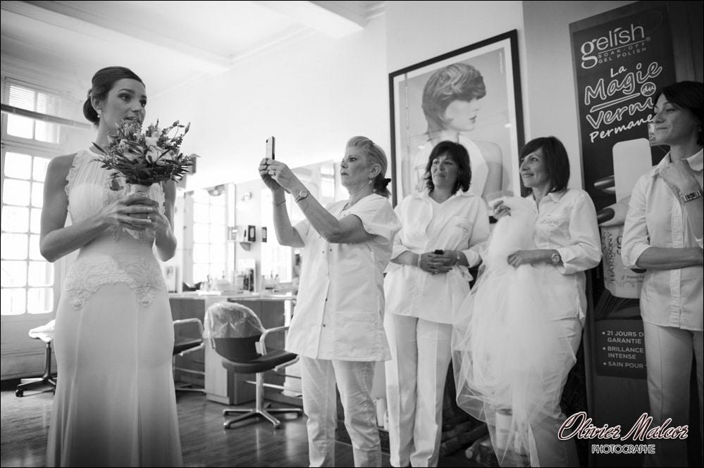 Les maquilleuses qui souhaitent garder un souvenir de la marié