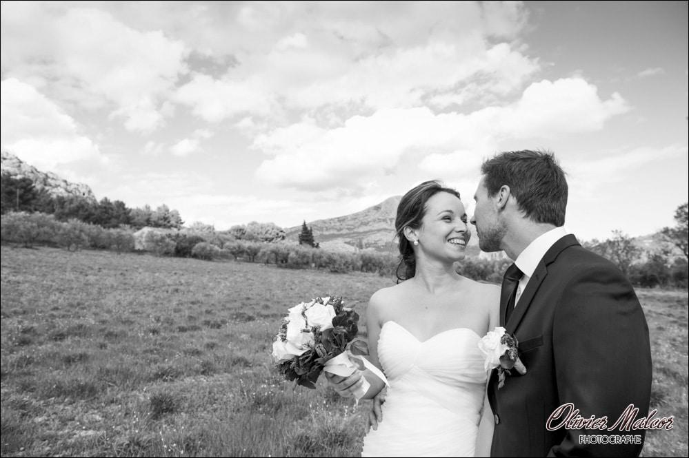 Les photos de couple prisent à côté de Domaine & Cie.