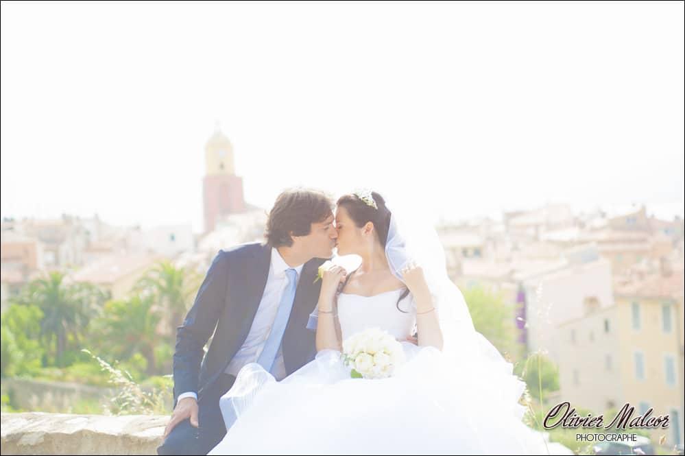 Photo de couple à Saint Tropez