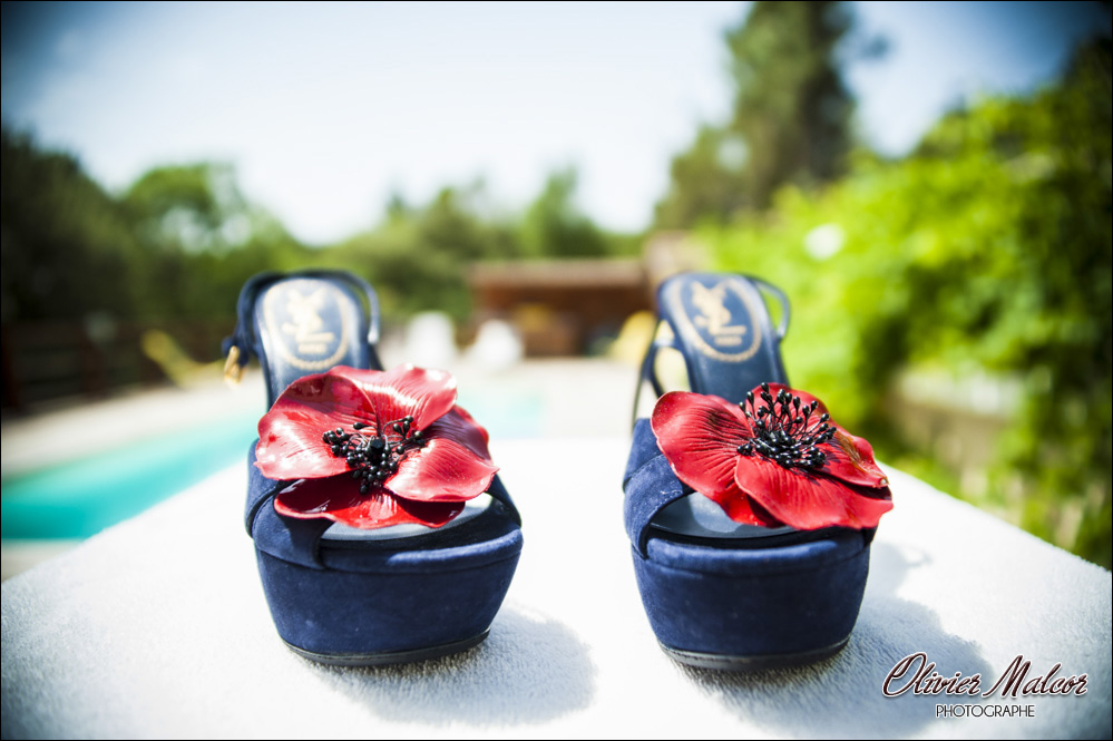 Photos chaussure mariage