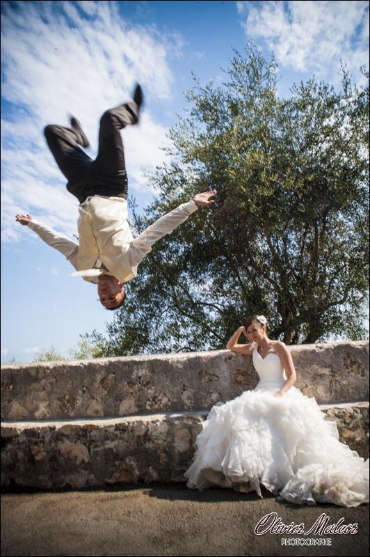 Séance photo de couple fun