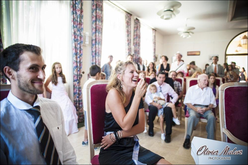 Les témoins des mariés