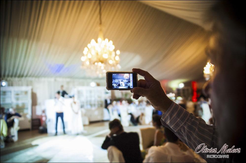Photographe discret de mariage