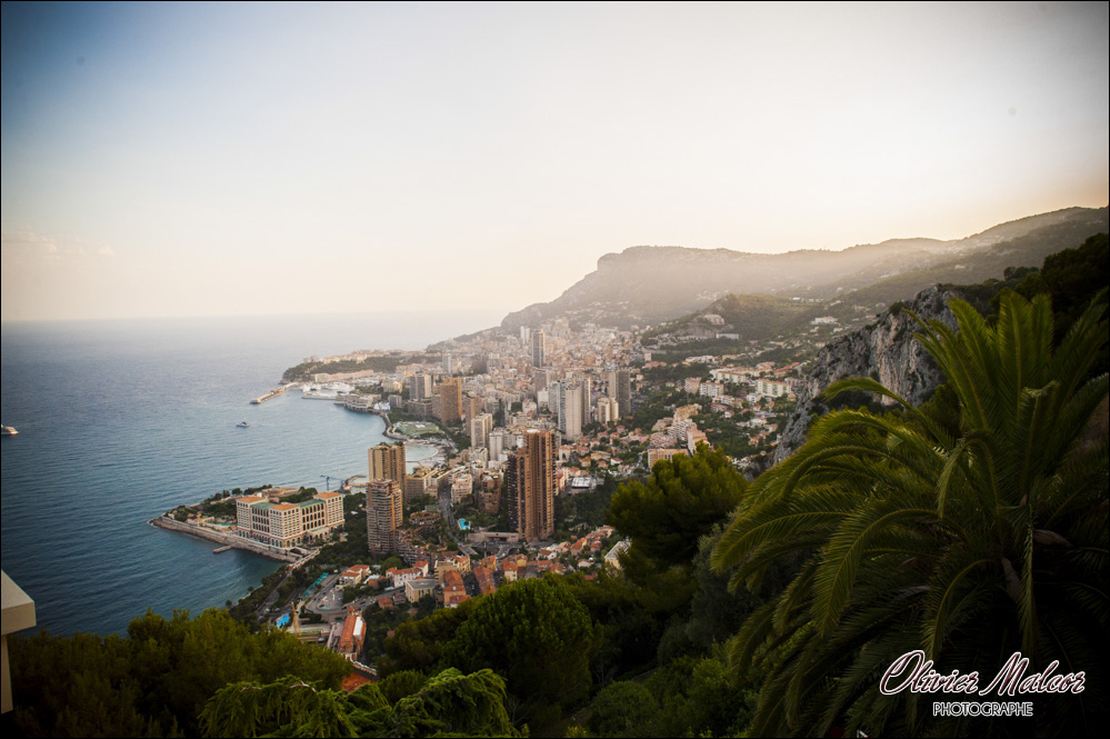 Magnifique vu des hauteur de Nice pour un mariage.