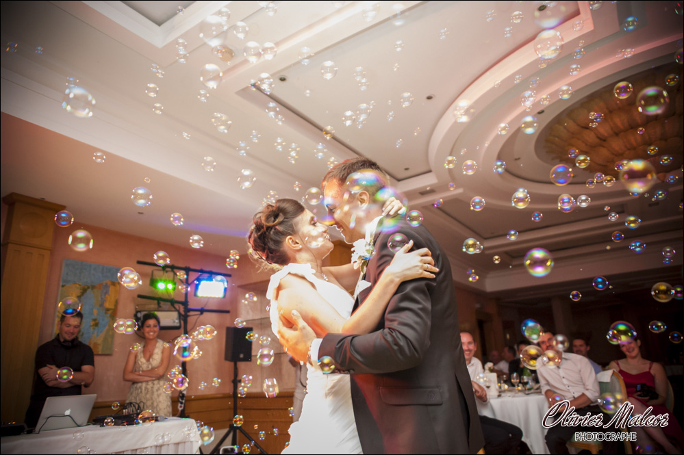 Photographe première danse mariés.