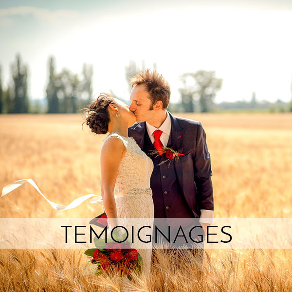 Témoignage mariés du photographe de mariage Olivier Malcor