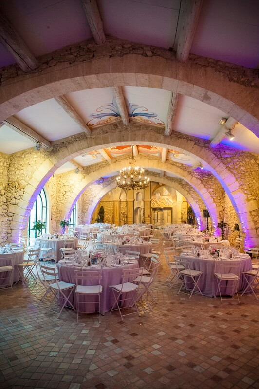 Salle mariage Pont Royal en Provence