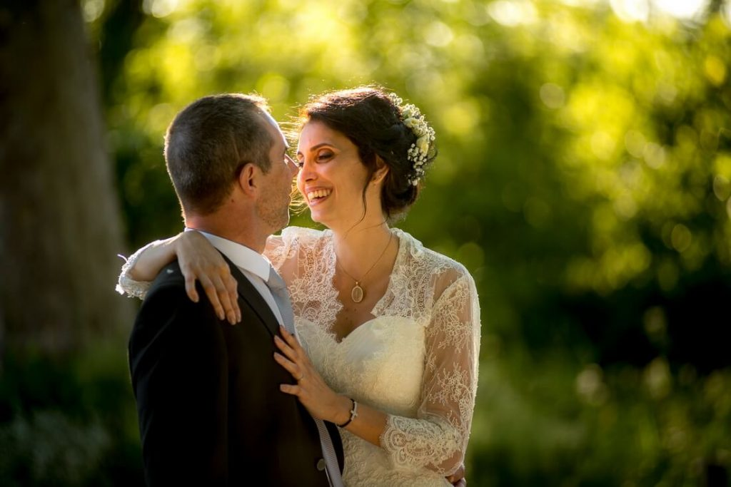 Photo de couple au château Pont Royal