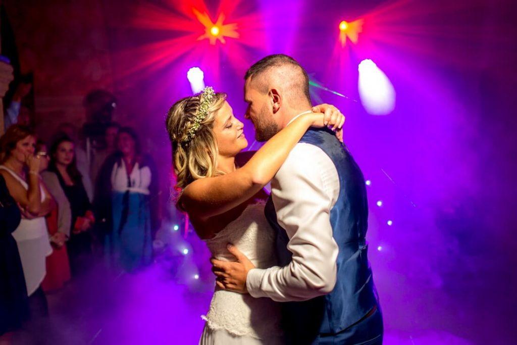 Première danse du mariage