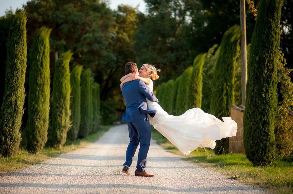 Photo de couple prise à Saint Bacchi
