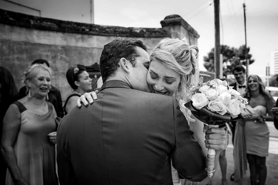 Grande émotion pour le mariage à Marseille