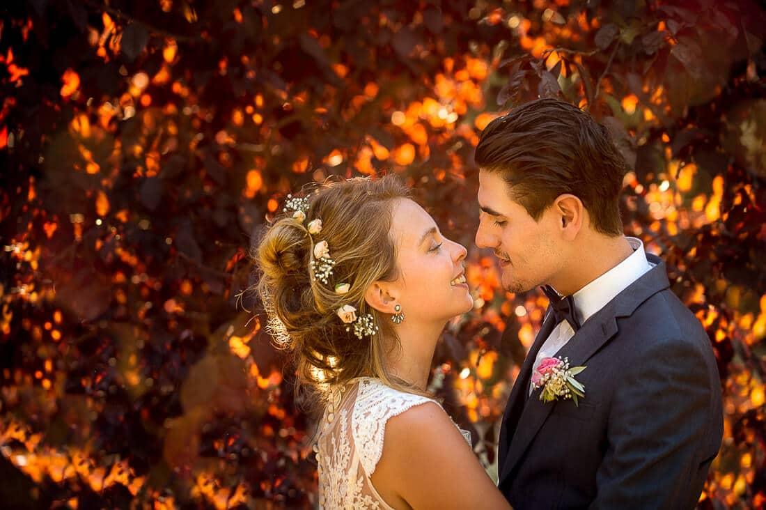 Photo de mariage pour un magnifique couple