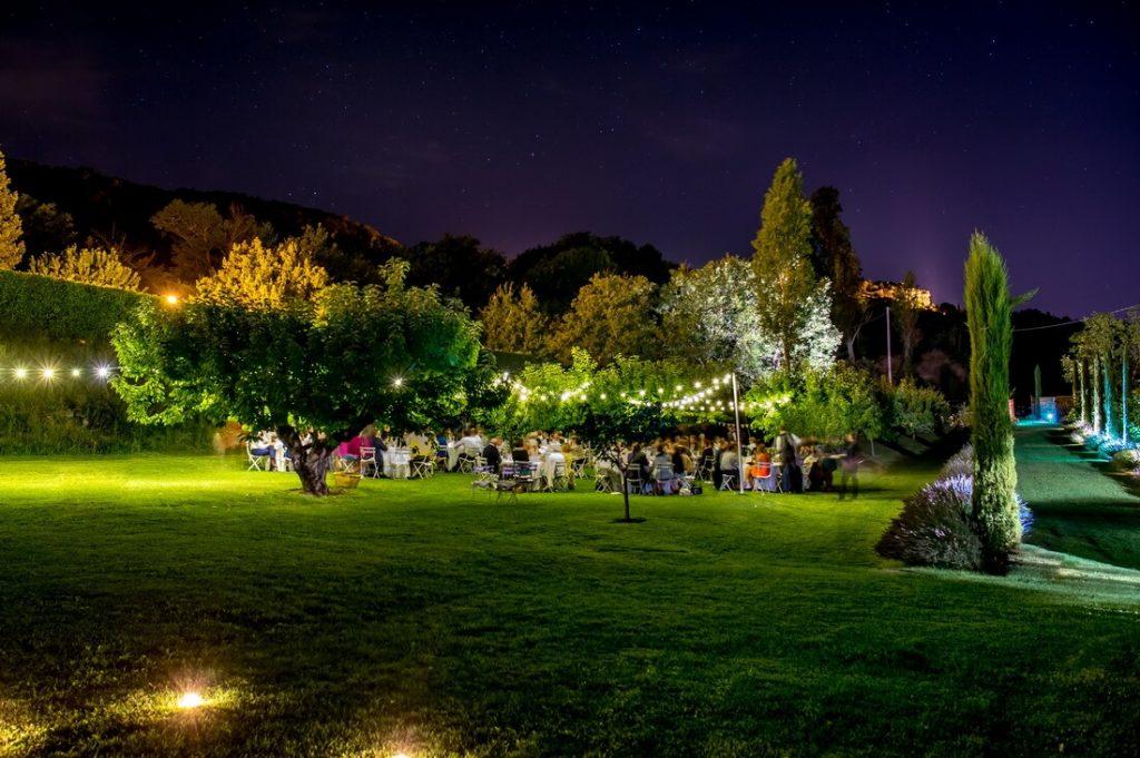 Abbaye Saint-Eusèbe soirée