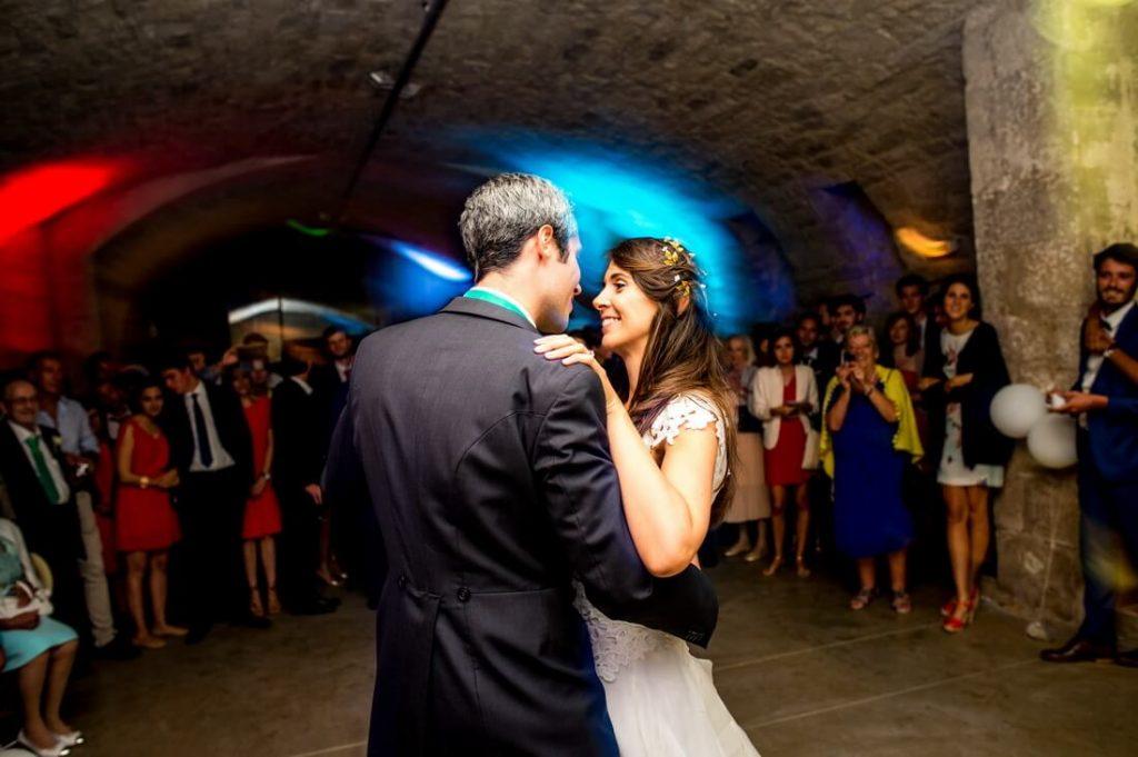 Première danse mariés Abbaye Saint Eusèbe