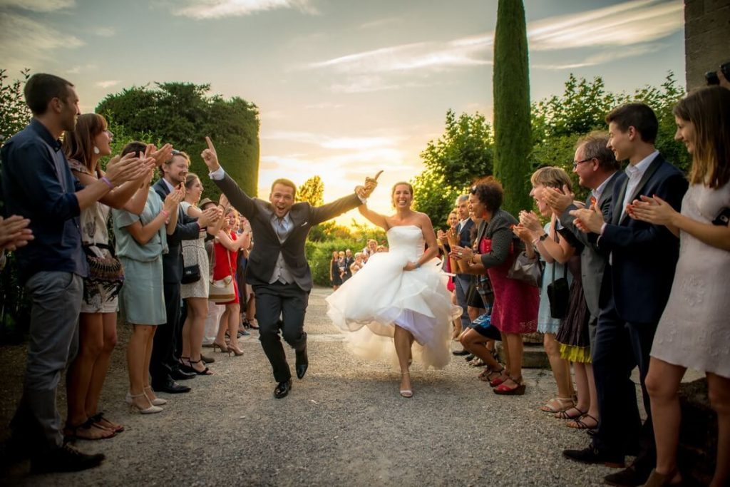 Photographe mariage à l'abbaye de Saint-Eusèbe