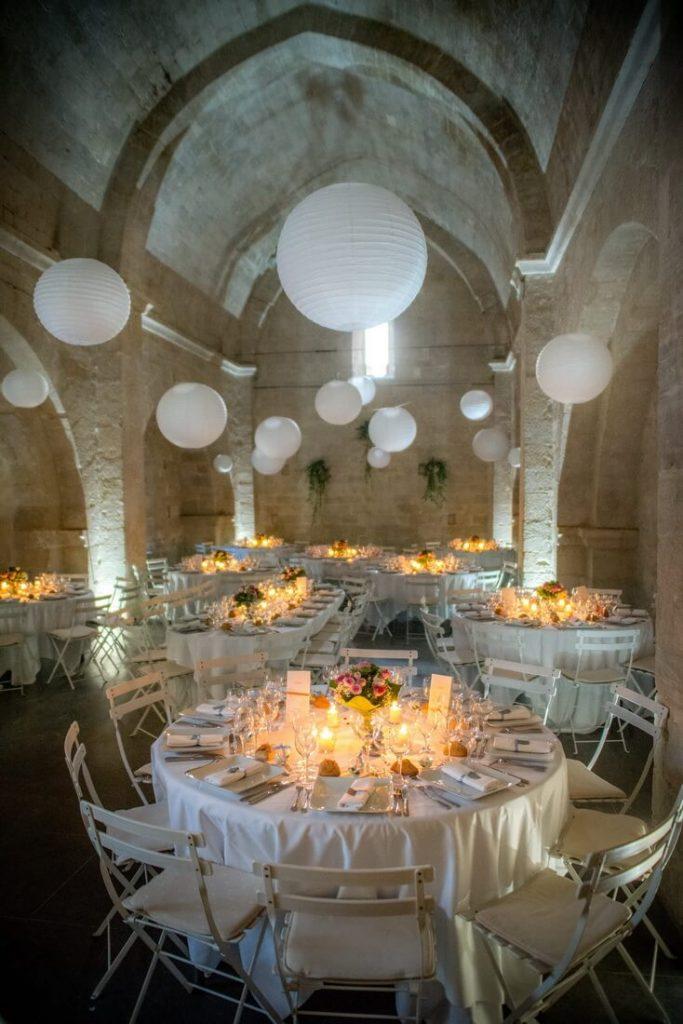 Abbaye Saint-Eusèbe dîner photographie