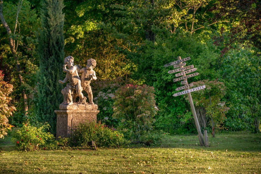 Déco mariage Château La Garde