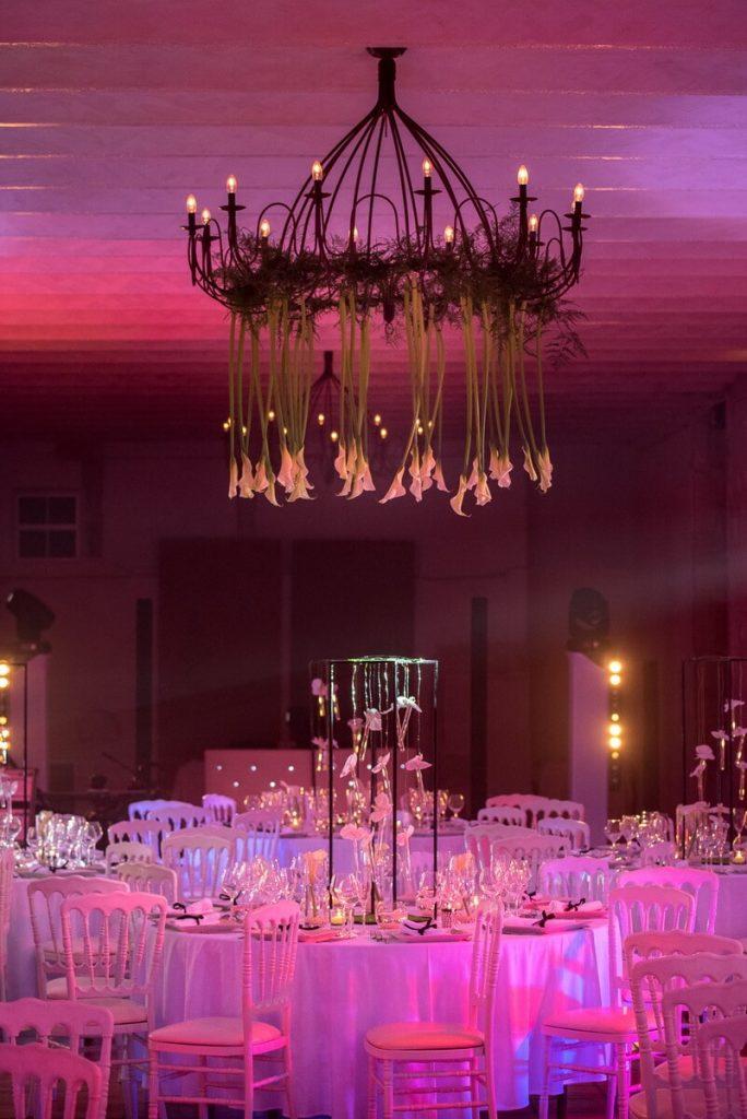 Salle de mariage en Provence