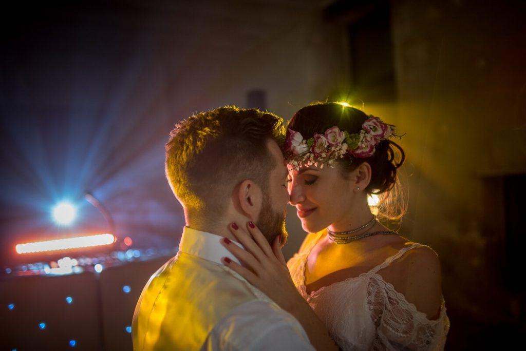 Photographe mariage salle en Provence